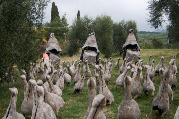 Die kunstparks der toskana - Giardino di daniel spoerri ...